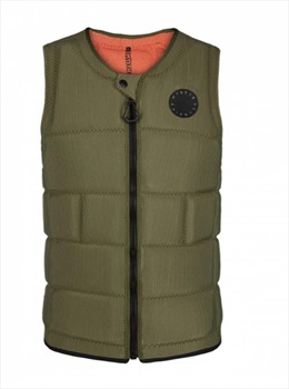 Mystic The Dom Wake Impact Vest, X Large Brave Green 2020