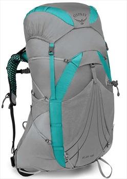 Osprey Eja 48 Medium Women's Light Backpacking Pack 48L Moonglade Grey