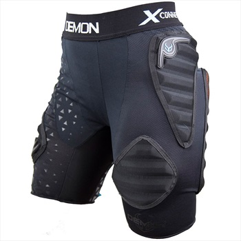 Demon Flex Force XD3O V3 Women's Ski/Snowboard Impact Shorts, L Black