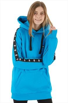 bro! Park Edition Bright Times Ski/Snowboard Hoodie, XS Cyan