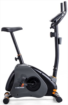 Head H7025U Upright Exercise Bike Indoor Fitness Training Cycle, Black