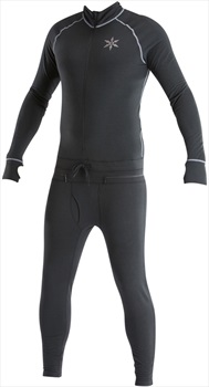 Airblaster Hoodless Ninja Suit Thermal Base Layer, L Black