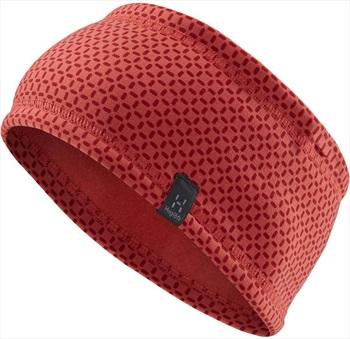 Haglofs Fanatic Thermal Headband, M/L Rusty Pink/Brick Red