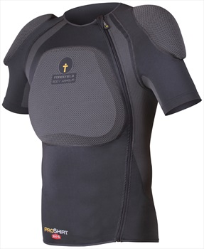 Forcefield Pro Shirt X-V-S Body Armour With Back Protector, XS, Grey