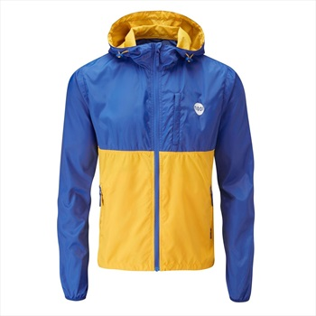 Moon Adult Unisex Wind Cheater Men's Shell Jacket, S Skydiver/Gold