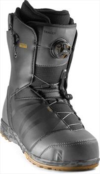 Nidecker Tracer BOA Heel-Lock Coiler Snowboard Boots, UK 11 Black 2020