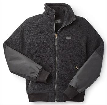 Filson Sherpa Full Zip Fleece Jacket, L Black