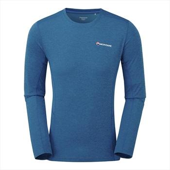 Montane Adult Unisex Dart Long-Sleeved T-Shirt, S Electric Blue