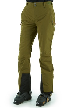 Planks Overstoke Women's Snowboard/Ski Pants, XS Army Green