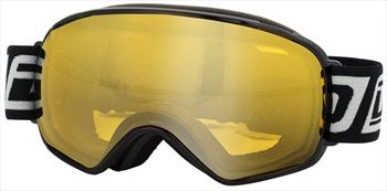 Dirty Dog Bullet, Yellow, Snowboard/Ski Goggles L Black