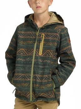 Burton Cosmic Fuse Youth Snowboard/Ski Jacket, M Resin Chimayo Remix