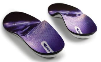 Sole CD Signature Thinsulate Ski Boot Insoles, UK 13 Purple