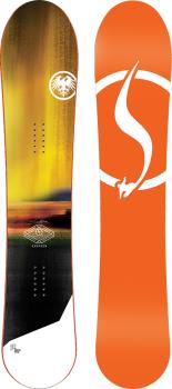 Never Summer Harpoon Rocker Camber Snowboard, 142cm