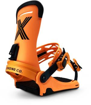 Fix Magnum Snowboard Bindings, Large Orange 2021