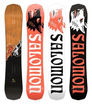 Salomon Assassin Hybrid Camber Snowboard, 153cm 2021