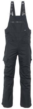 686 Adult Unisex Hot Lap Insulated Bib Snowboard/Ski Pants, L Black