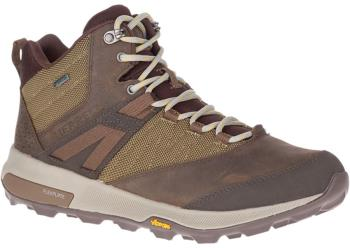 Merrell Adult Unisex Zion Mid Gore-Tex Hiking Boots, Uk 11 Brown