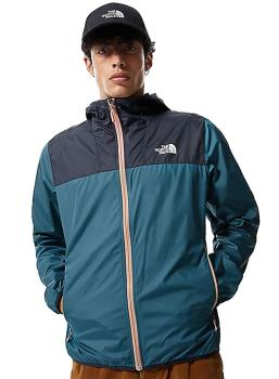 The North Face Adult Unisex Cyclone 2 Men's Hooded Softshell Jacket, L Blue/Navy