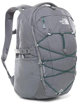 The North Face Adult Unisex Borealis Hiking Backpack, 28 L Zinc Grey Dark Heather