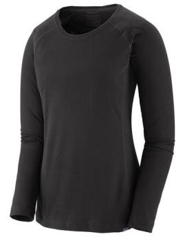 Patagonia Capilene Midweight Women's Thermal Crew, M All Black