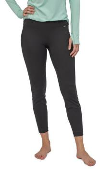 Patagonia Capilene Midweight Women's Thermal Bottoms, L All Black
