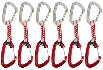 Wild Country Wildwire 2 Climbing Quickdraw Pack, 6 X 10cm Red