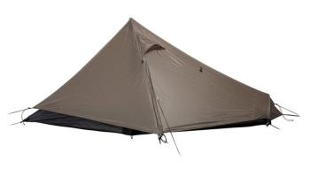 Snow Peak Lago Pro Air 1 Ultralight Backpacking Tent, 1 Man Bark