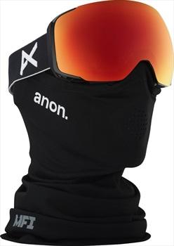 Anon M2 Sonar Red Ski/Snowboard Goggles, M/L MFI Black