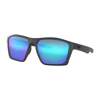 Oakley Targetline Aero Flight Prizm Sapphire Iridium Sunglasses, Black