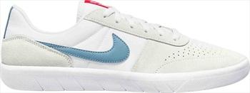 Nike SB Team Classic Men's Trainers Skate Shoes UK 9 White/Cerulean