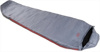 Snugpak Travelpak 4 Camping Sleeping Bag, Regular Pebble LH Zip