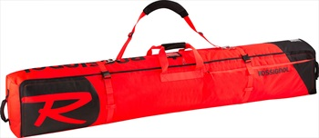 Rossignol Hero Ski Wheeled Bag 2/3P Ski Bag, 200cm Red/Black