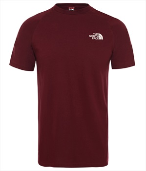 The North Face North Face Tee Men's T-shirt, M Red Denali