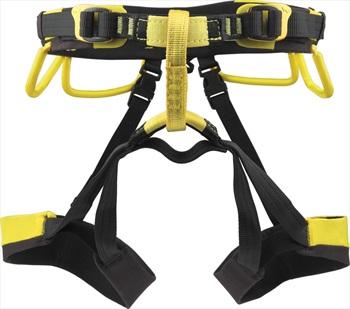 Grivel Adult Unisex Apollo Rock Climbing Harness, 67-87cm Black/Yellow