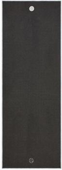Manduka Yogitoes Yoga/Pilates Mat Towel, Grey