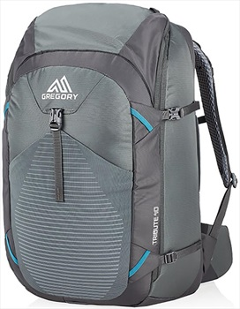 Gregory Womens Tribute 40 Adventure Travel Backpack, 40L Mystic Grey