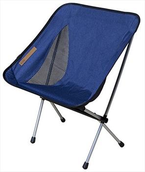 Nigor Morningbird Lightweight Compact Camp Chair, Dark Blue Denim