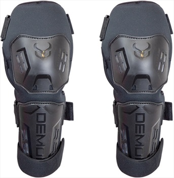 Demon Tactic Shorty Ski/Snowboard Knee Pads, S/M Black