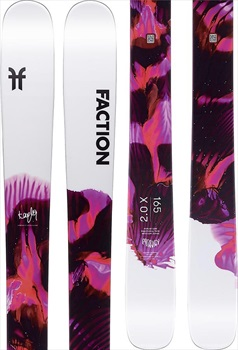 Faction Prodigy 2.0 Ski Only Skis, 165cm X 2020