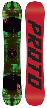 Never Summer Proto Mini Kids Rocker Camber Snowboard, 140cm 2019
