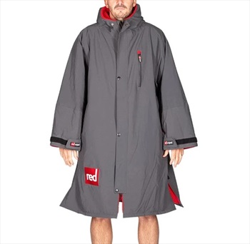 Red Original Pro Change Jacket LS Dressing Dry Robe, Medium