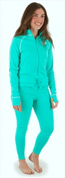 Airblaster Womens Ninja Suit Thermal Base Layer, M GNU Hot Teal