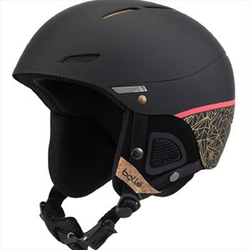 Bolle Womens Juliet Women's Ski/Snowboard Helmet, M Black Rose Gold