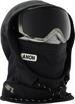 Anon XL Hooded Balaclava Women's MFI Facemask, Marble Black