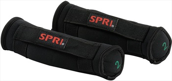SPRI Mini Contour Hand Weights, 0.9 KG Black