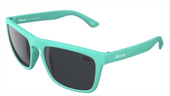 Melon Layback 2.0 Smoke Polarized Sunglasses, Peppermint