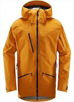Haglofs Nengal 3L PROOF Ski/Snowboard Parka Jacket, L Desert Yellow