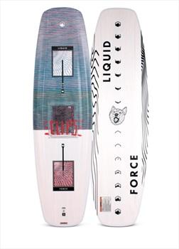 Liquid Force Eclipse FSC Wood Core Park Wakeboard, 158 Wht Green 2020