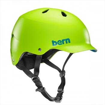 Bern Watts H2O Watersports Wakeboard Helmet, S Neon Green