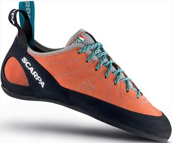 Scarpa Helix Rock Climbing Shoe: UK 3.75   EU 36.5, Mandarin